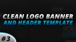 Free Clean Logo, Banner and Header Template #3 | DU Designs