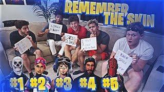 REMEMBER THAT FORTNITE SKIN MEMORY CHALLENGE!!