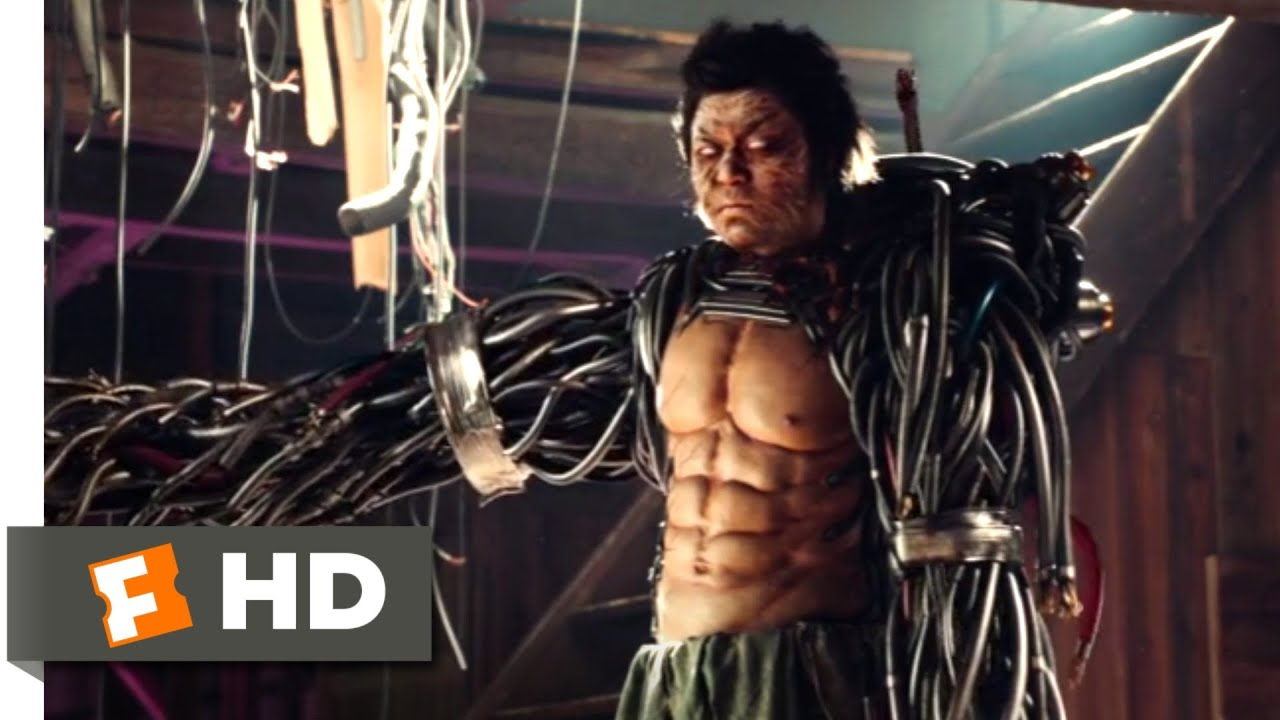 Gintama (2018) - Cyborg Samurai Scene (9/10) | Movieclips