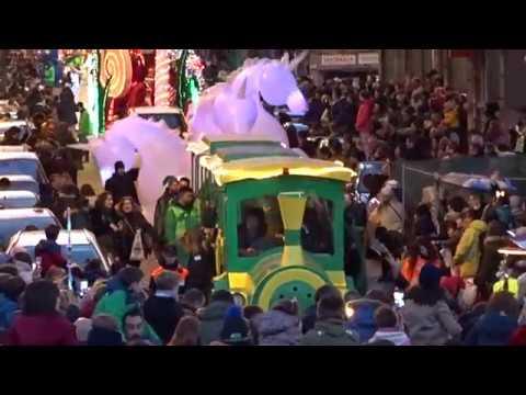 VIDEO Cabalgata de Reyes A Coruña 2019