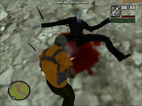 GTA San Andreas Slenderman mod :) with download link