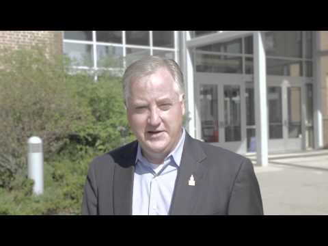 Speaker Sharkey Visits Spring Glen School