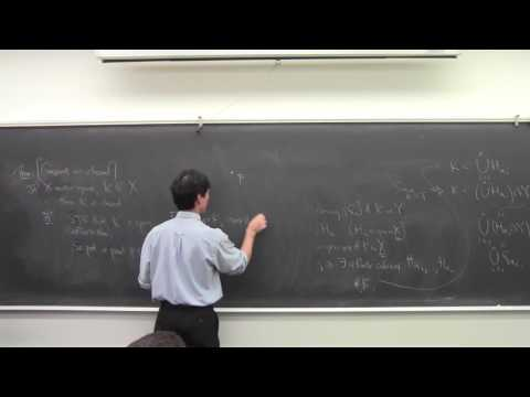 Math 131 092116 Properties of Compact Sets