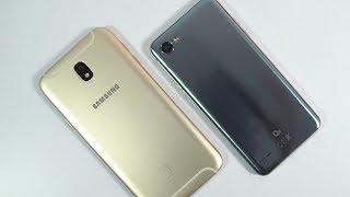 Samsung J7 Pro vs LG Q6 Speed Test, Memory Management test and Benchmark Scores
