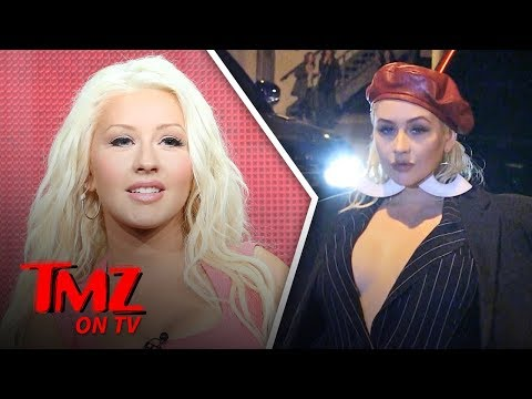 Christina Aguilara's Wild Night Out In Hollywood | TMZ TV
