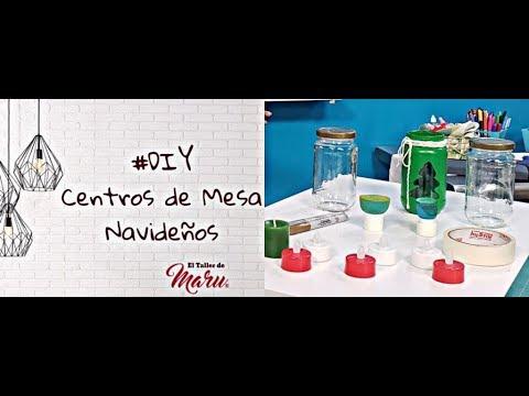 #DIY Centro de Mesa Navideño