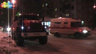 В центре Архангельска на улице Воскресенской загорелся магазин
