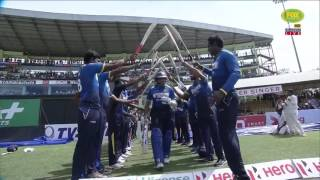 Dilshan plays his final innings as Australia