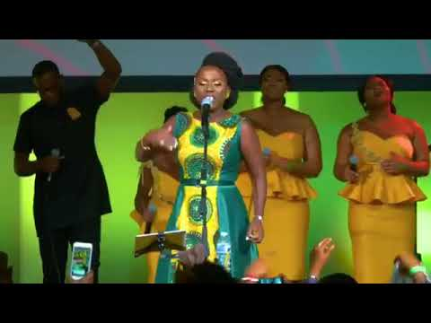 Diana Antwi Hamilton doing her thing; love it