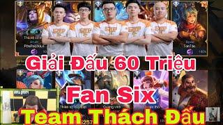 Team SGP Vs Team Thách Đấu