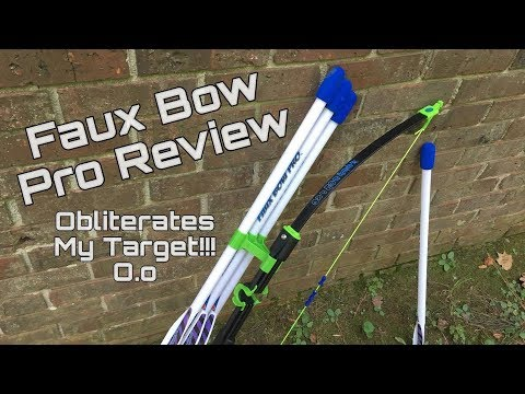 Honest Review: Faux Bow Pro (Blasting 200 Feet Easy!)