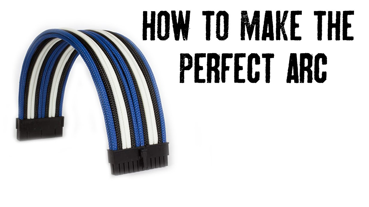 How To Make The Perfect Arc On Your Custom Sleeved