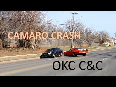 VIRAL Camaro Crash At Oklahoma City C&C