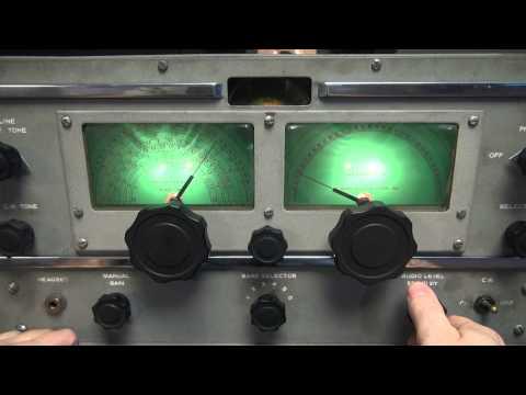 vintage-rme-70-receiver-tube-ham-shortwave-radio-receiver-demo