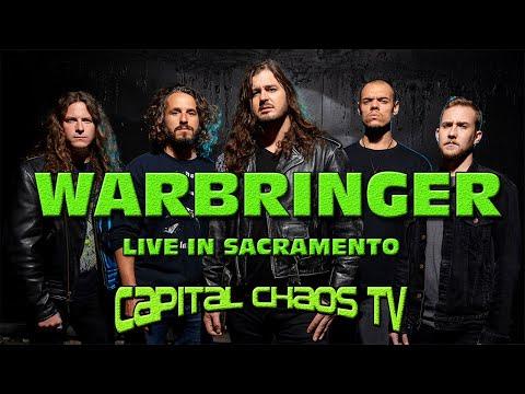 Warbringer full set LIVE in Sacramento, California 03/17/17