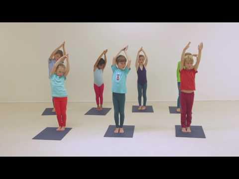 Creative Yoga Games for Kids - Spaghetti