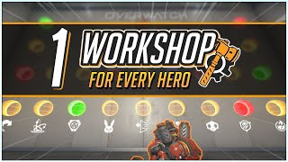 1 WORKSHOP for EVERY HERO