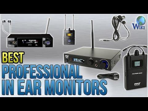 10 Best Professional In Ear Monitors 2018