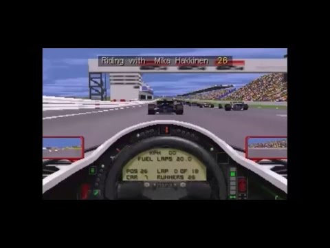 Microprose Grand Prix 2 - Brazil Race