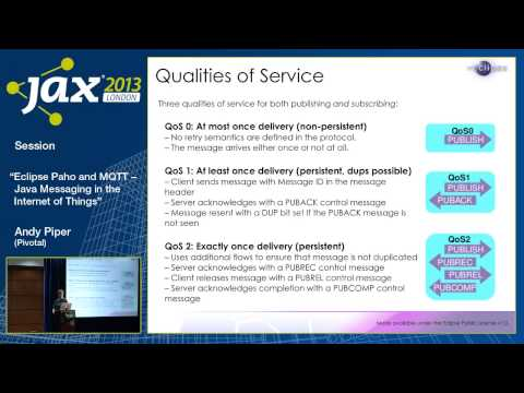 Andy Piper: Eclipse Paho and MQTT - Java Messaging in the