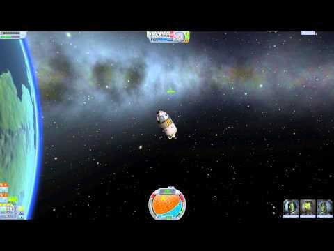 KSP .22 Part 4 'Orbital Fuel Station & Docking Tutorial ...
