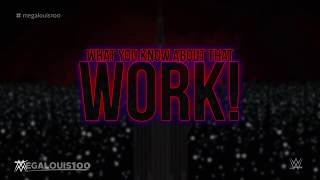 """WWE Wrestlemania 35 Official Theme Song - """"Work"""" with download link and lyrics!"""