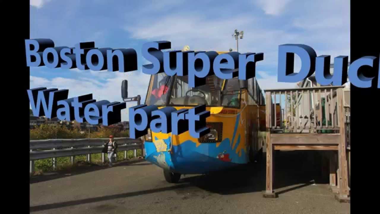 Download Boston Superduck -Water portion