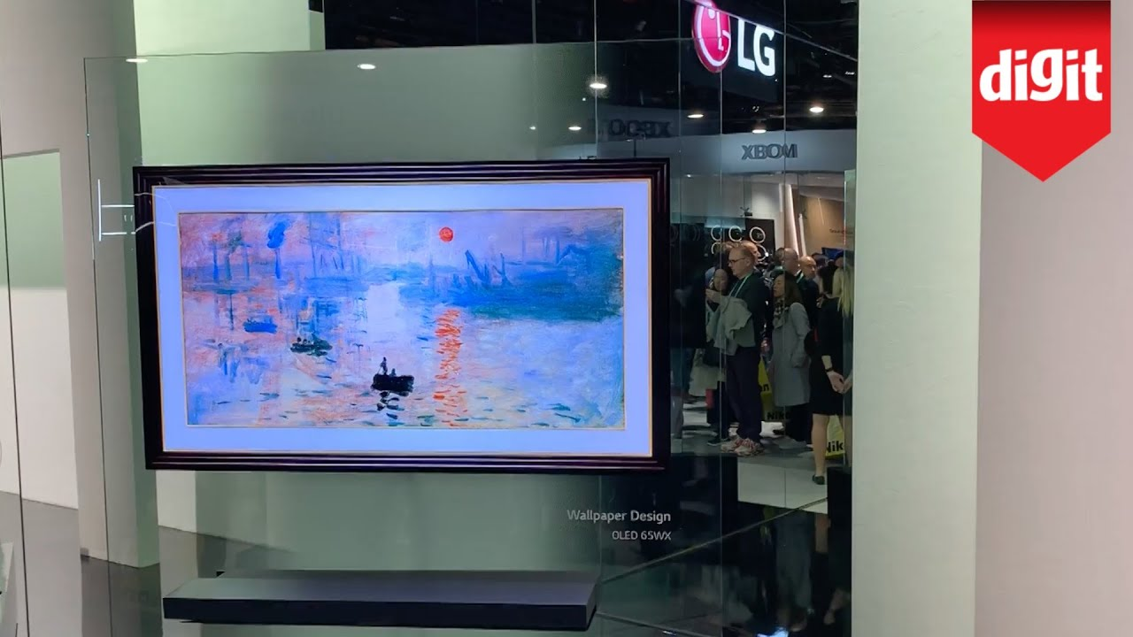 Here's LG 2020 OLED TV Lineup: LG WX