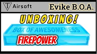 Unboxing Evike's Box of Awesomeness Firepower - TriFecta Airsoft 114