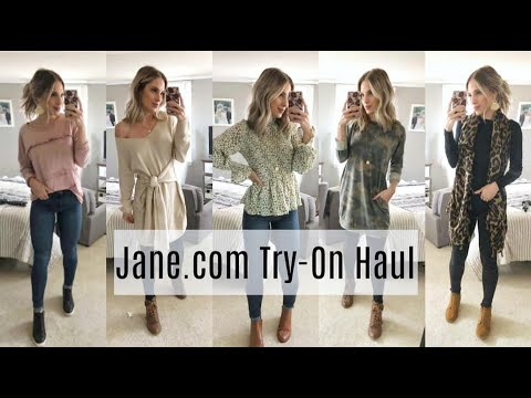 [VIDEO] – Jane.com Try-On Haul | Casual Winter Outfit Ideas