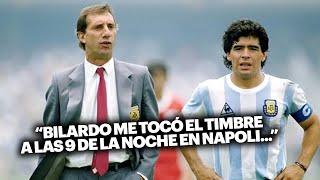 Diego Maradona cuenta cuando Bilardo le dice que NO va a citar a Caniggia al Mundial..