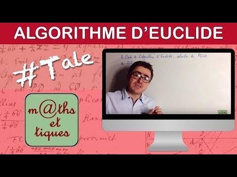 Download Appliquer l'algorithme d'Euclide (Version collège) - Tale Maths expertes
