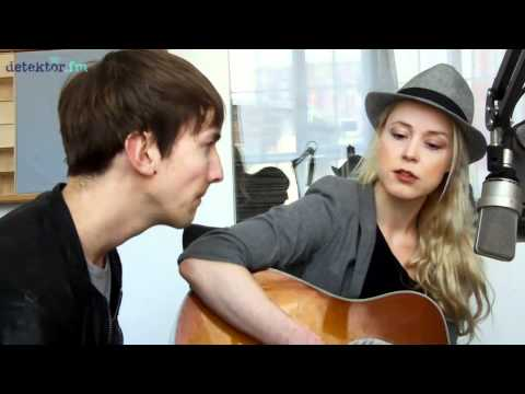 Tina Dico & Helgi Jonsson - No Time To Sleep (detektor.fm Akustik-Session)