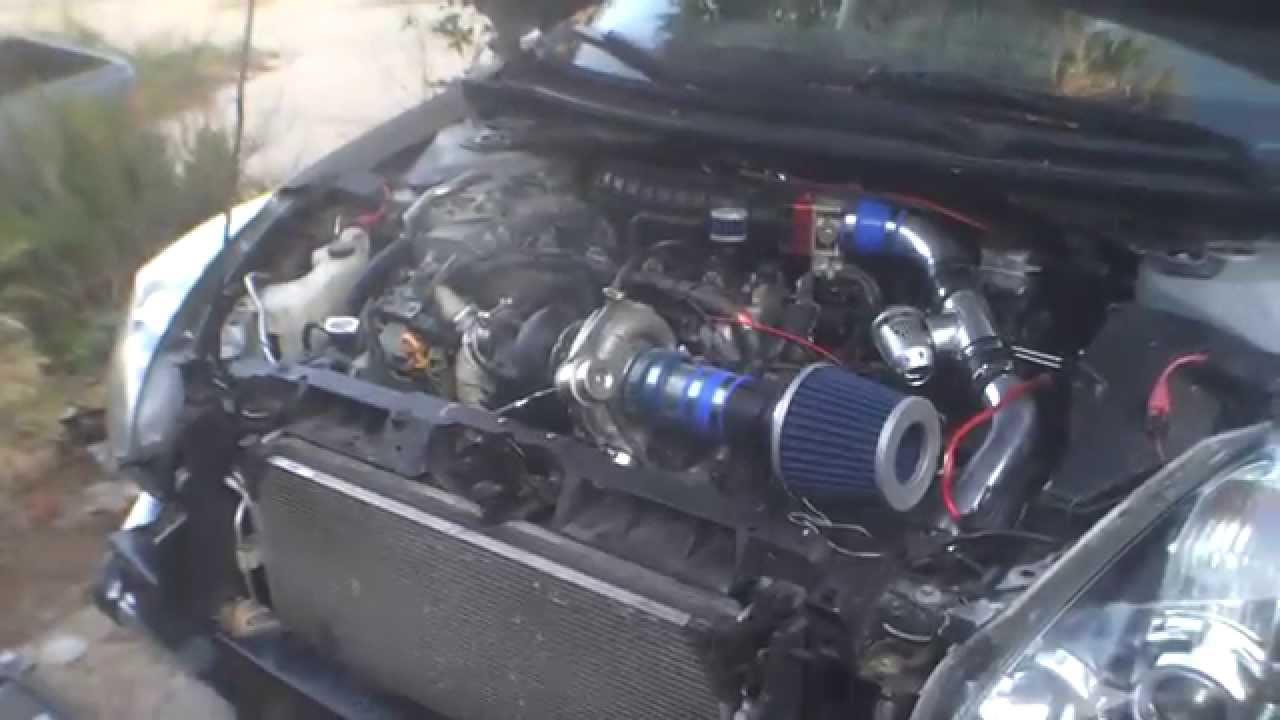 Nissan Altima Turbo QR25DE QR25DET Sentra SE-R SpecV - YouTube