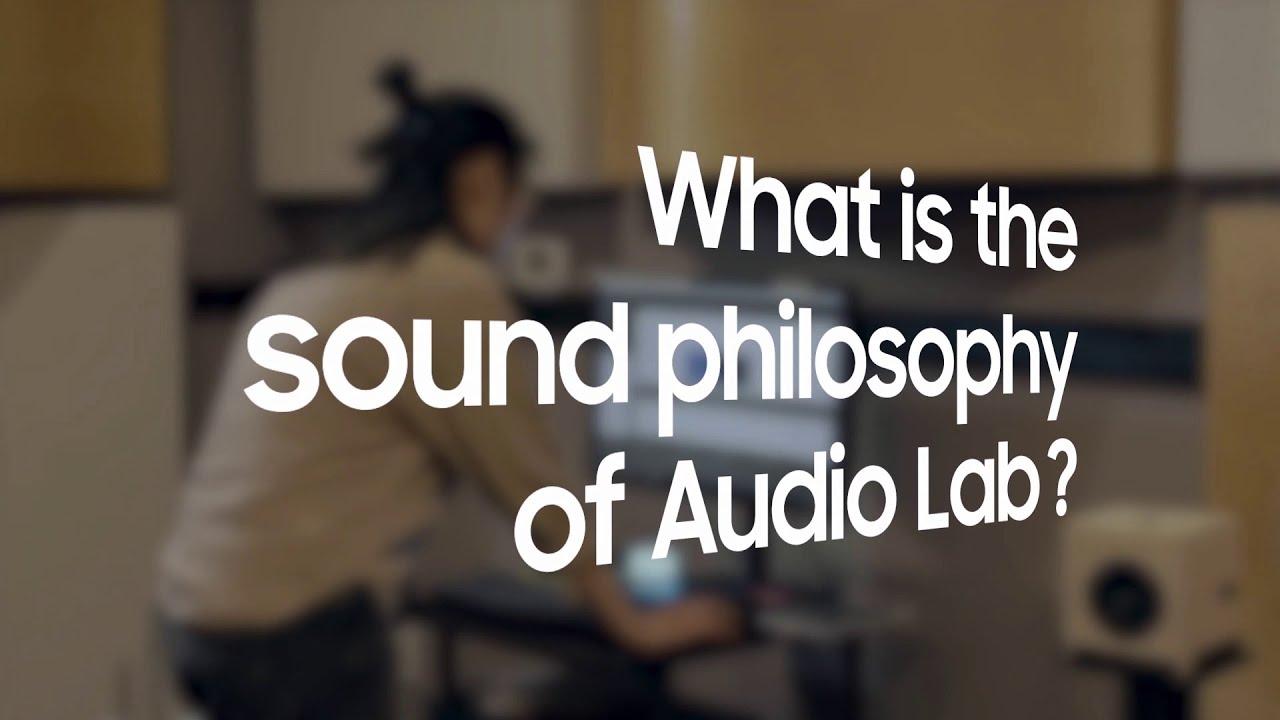 The Samsung Audio Lab #UnboxAndDiscover | Samsung