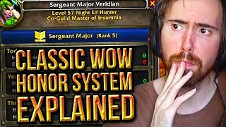 Asmongold Reacts To How The PvP Honor System Works In Classic WoW (PHASE 2) - Punkrat