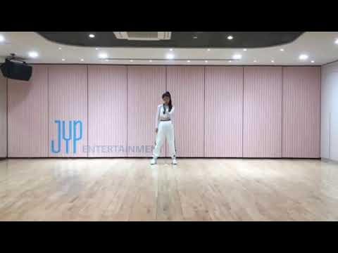 Hwang Yeji (JYP New Girl Group) Practice