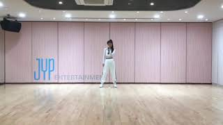 Hwang Yeji (JYP New Girl Group) Practice