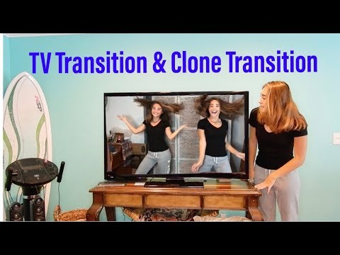 How to do the TV & Clone Transition on Musical ly!