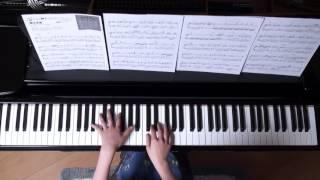2016年3月20日 録画 使用楽譜;月刊ピアノ2015年3月号、 楽譜の記載難易...