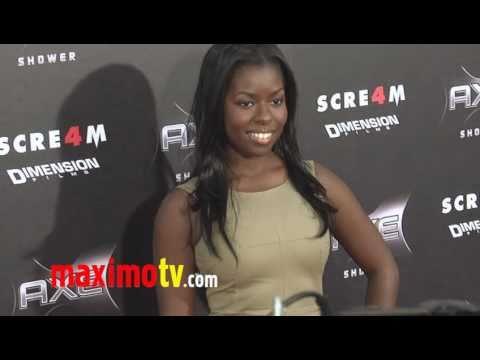 """CAMILLE WINBUSH at """"SCREAM 4"""" Premiere"""