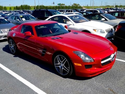 2011 Mercedes-Benz SLS AMG Walkaround, Start Up, Exhaust, Review