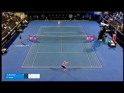 Eugenie Bouchard vs Camila Giorgi - Full Match