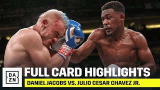 FULL CARD HIGHLIGHTS | Daniel Jacobs vs. Julio Cesar Chavez Jr.