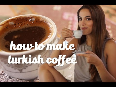 How To Make Turkish Coffee || Cook Like A World Traveler