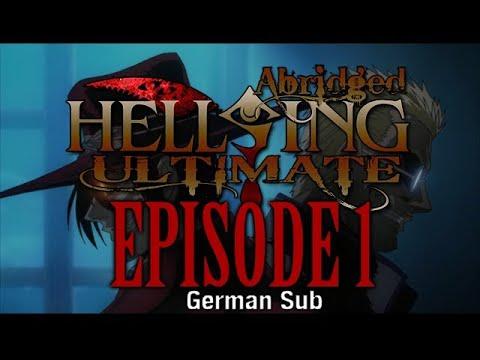*TFS* Hellsing Ultimate Abridged Episode 1 - German Sub