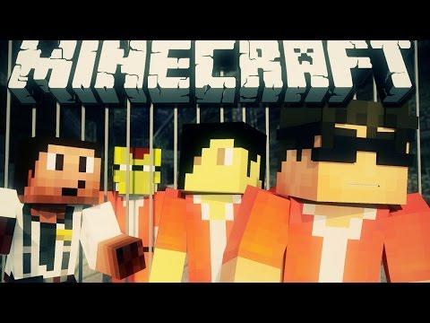 ESCAPE FROM BLOCK ISLAND! (Minecraft Machinima)