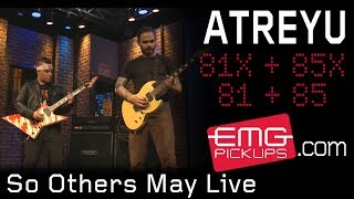 "Atreyu plays ""So Others May Live"" live on EMGtv"