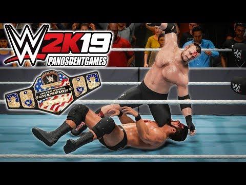 Ο PANOS DENT ΑΓΩΝΙΖΕΤΑΙ ΓΙΑ ΤΟΝ ΠΡΩΤΟ ΤΟΥ ΤΙΤΛΟ ΣΤΟ WWE | WWE 2K19 #7