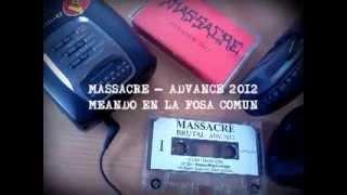 MASSACRE- Las Violentas calles de Santiago, Meando en la Fosa común, Brutal - Cassette